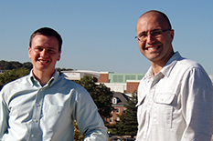 Mechanical Engineering graduate student David Catalini, and Civil and Environmental Engineering graduate student Aaron Leininger, are the 2017 recipients of the GDF-Suez Chuck Edwards Memorial Fellowships.