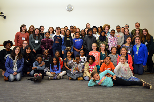 Engineering Playdate (EP) is a program led by UMD students for girls ages 8–12 who want to become engineers.
