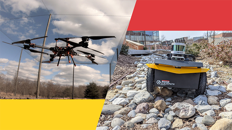 The five-year agreement will accelerate the development and deployment of safe, effective, and resilient capabilities and technologies that work intelligently and in cooperation with each other and with human actors across multiple environments. Image: University of Maryland