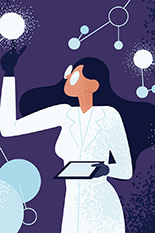 UMD will lead a multi-institutional hub, funded by a $15 million grant from the National Science Foundation, to train science and engineering researchers in entrepreneurship to bolster U.S. leadership in innovation. (Illustration by Shutterstock)