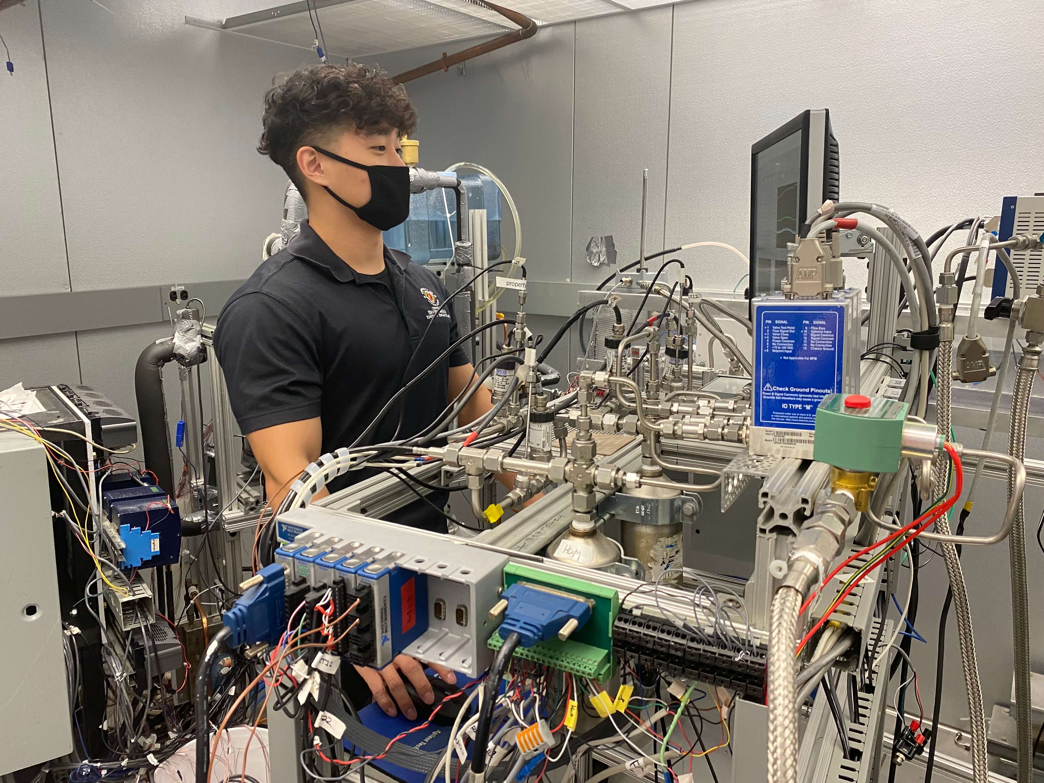 CEEE Graduate Research Assistant in the Daikin Energy Innovation Lab.