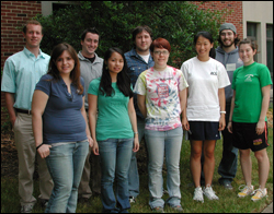 The REU class of summer 2007