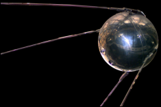 History changed on October 4, 1957, when the Soviet Union successfully launched Sputnik I.
