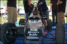 The Terps Racing Formula SAE car.