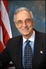 U.S. Deputy Secretary of Defense Gordon England, B.S. '61, electrical engineering (courtesy of the U.S. Department of Defense)