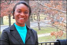 Rochelle Mellish is awarded the 2009 Sloane Scholarship in Aerospace Engineering
