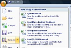 Office Excel 2007 Screenshot