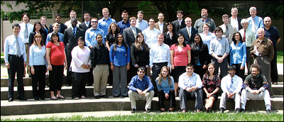 The Class of 2009 with faculty and staff.