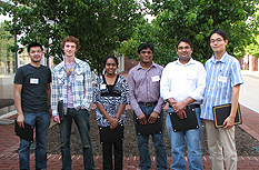 Ravi Garg, Shalabh Jain, Aparna Kotha, Woo Myoung Park, Padraig O'Sullivan, Saeed Esmaili Sardari, and John Shiu received Distinguished Teaching Assistant Certificates from the Center for Teaching Excellence.
