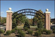 Frostburg State University Campus Gate