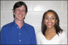 Dr. Robert Sanner and Erika Aparakakankanange