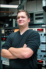 Sebastian Engelmann (Ph.D. '08, materials science and engineering).