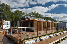 LEAFHouse, UM's 2007 entry in the Solar Decathlon competition.