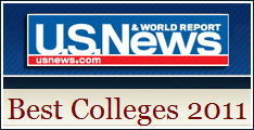 US News and World Report Best Colleges of 2011
