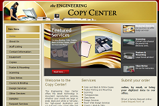 Engineering Copy Center Website
