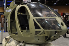 Active Crash Protection System Technology Demonstrator on Display at the 66th Annual Forum of the American Helicopter Society (May, 2010) in Phoenix, AZ