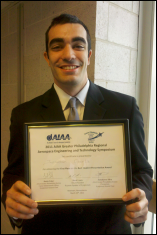 Jonathan Geerts is a senior in the Department of Aerospace Engineering.