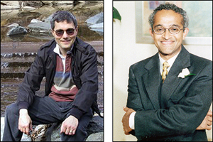 Principal Investigators Dana Nau (L) and V.S. Subrahmanian