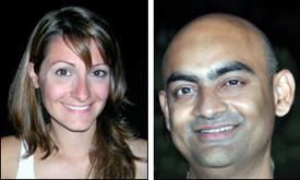 Kleoniki Vlachou and Prem Swaroop