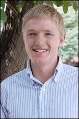 ChBE graduate student and John and Maureen Hendricks Energy Research Fellow Will Gibbons.