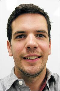 MSE graduate student Stephen Daunheimer.