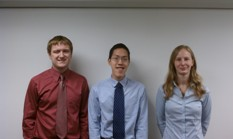 From left to right: Sean Symon; Harrison Chau; Robin Klomparens