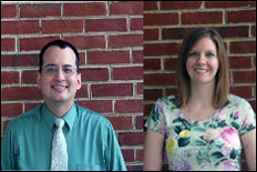 From left to right: Mr. Neruh Ramirez, Mrs. Becky Baltich Nelson &nbsp;