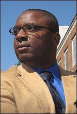 Ph.D. student David Mayo.