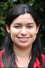 Aerospace undergrad Gladys Palacio