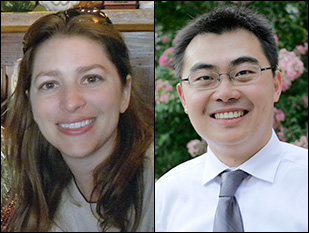 New MSE professors Marina Leite and Yifei Mo.