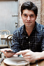Pictured: Anthony Casalena, UMD Hinman CEOs alumnus and founder and CEO of Squarespace.