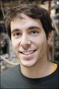MSE graduate student Elliot Bartis.