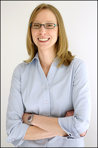 Assistant Professor Amy Karlsson (Department of Chemical and Biomolecular Engineering).