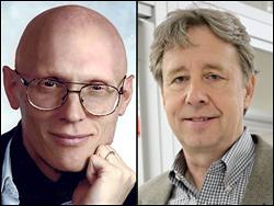 Left: Professor Raymond J. Phaneuf. Right: Professor Robert M. Briber.