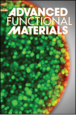 Cover image copyright of Advanced Functional Materials.