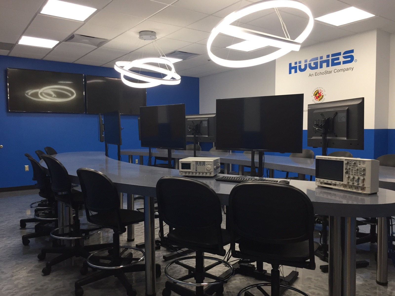 The 428 Communications Design Lab sponsored by Hughes Network Systems