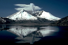 Mount St. Helens as it appeared two years after it erupted. Credit: U.S. Geological Survey