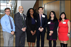 Pharmacy students Nam Nguyen and Laetitia N'Dri took top prize in this year's
