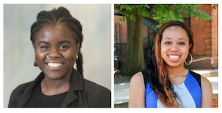 Photo: Soliver Fusi (left), Kenya Colvin (right).