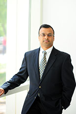 Dr. Vikrant Aute, winner of a Provost's Excellence Award for Professional Track Faculty.