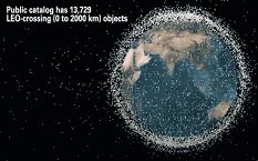 AGI currently focuses on tracking debris in geosynchronous orbit, but the vast majority of debris is in low-Earth orbit, or LEO