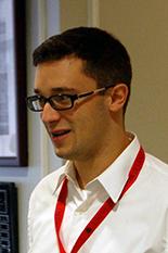 Ph.D. Student James Tancabel wins the Best Student Consortium Presentation Award.