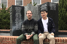 Joe Baker and Tao Deng are the 2018 winners of Engie North America's Chuck Edwards Memorial Fellowships.