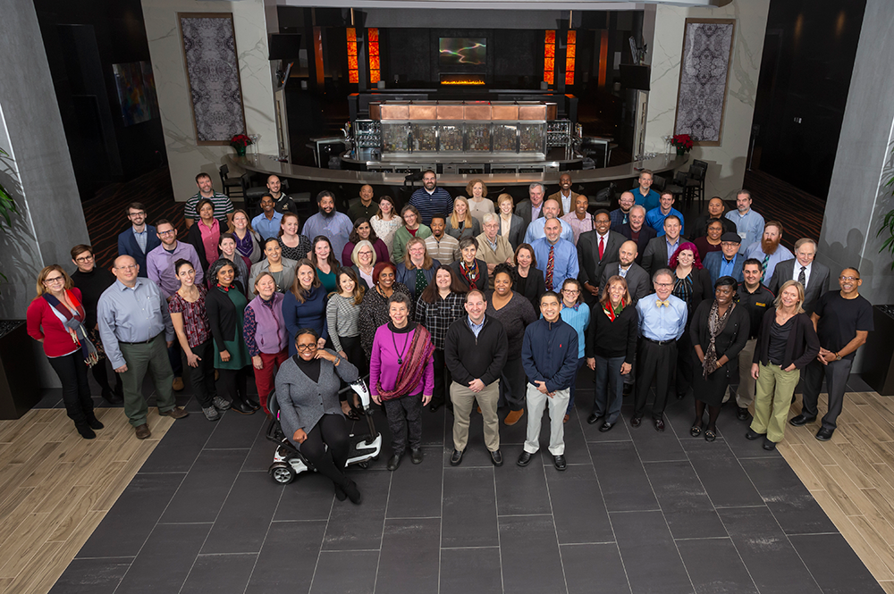 Participants from the E4USA Engineering Curriculum Workshop. Photo: John T. Consoli/University of Maryland