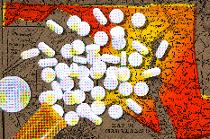 According to the National Institute on Drug Abuse, Maryland ranks in the top five in the nation for opioid-related overdose death rates. UMD faculty and partners will provide training programs to strengthen rural communities' ability to recognize, understand and respond to opioid misuse.(Illustration by Valerie Morgan)