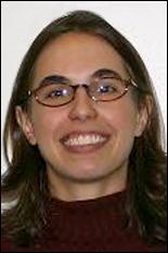 Angela Lewandowski (pictured) partnered with alumnus Adam Fisher, '03.
