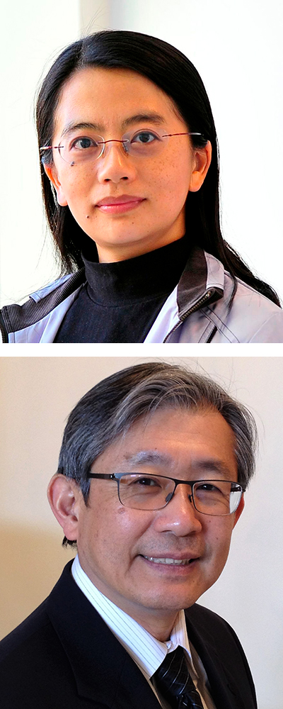 Min Wu (top) and K. J. Ray Liu (bottom)