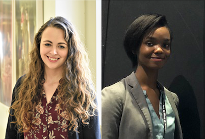Chelsea Haakenson and Shakeera Walker will travel from the University of Maryland, College Park to the University of Maryland, Baltimore. UMCP and UMB launched the VFIN Program to enhance research collaborations between the two neuroscience programs.