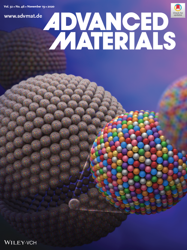 Liangbing Hu Advanced Materials Cover, Nov. 2020