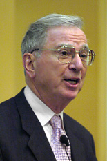 Dr. Irwin Jacobs, co-founder and chairman of the board of directors of QUALCOMM Incorporated, delivers the first Whiting-Turner Lecture of 2005-2006.